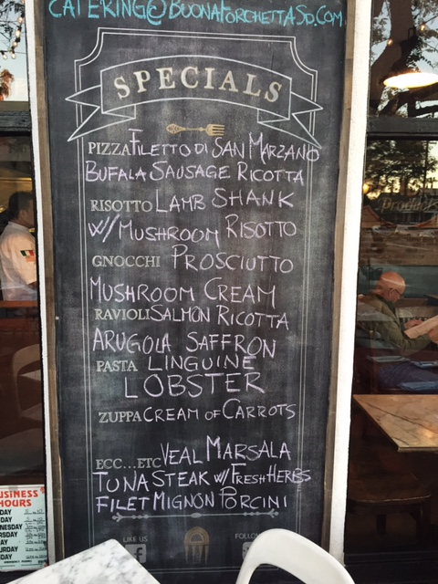 Buona Forchetta Specials